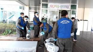 청송군 사회봉사단체들, 코로나19 방역 파수꾼 역할 톡톡!